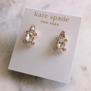Kate Spade Rhinestone Stud Earrings